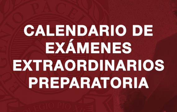 Calendario de exámenes extraordinarios Preparatoria